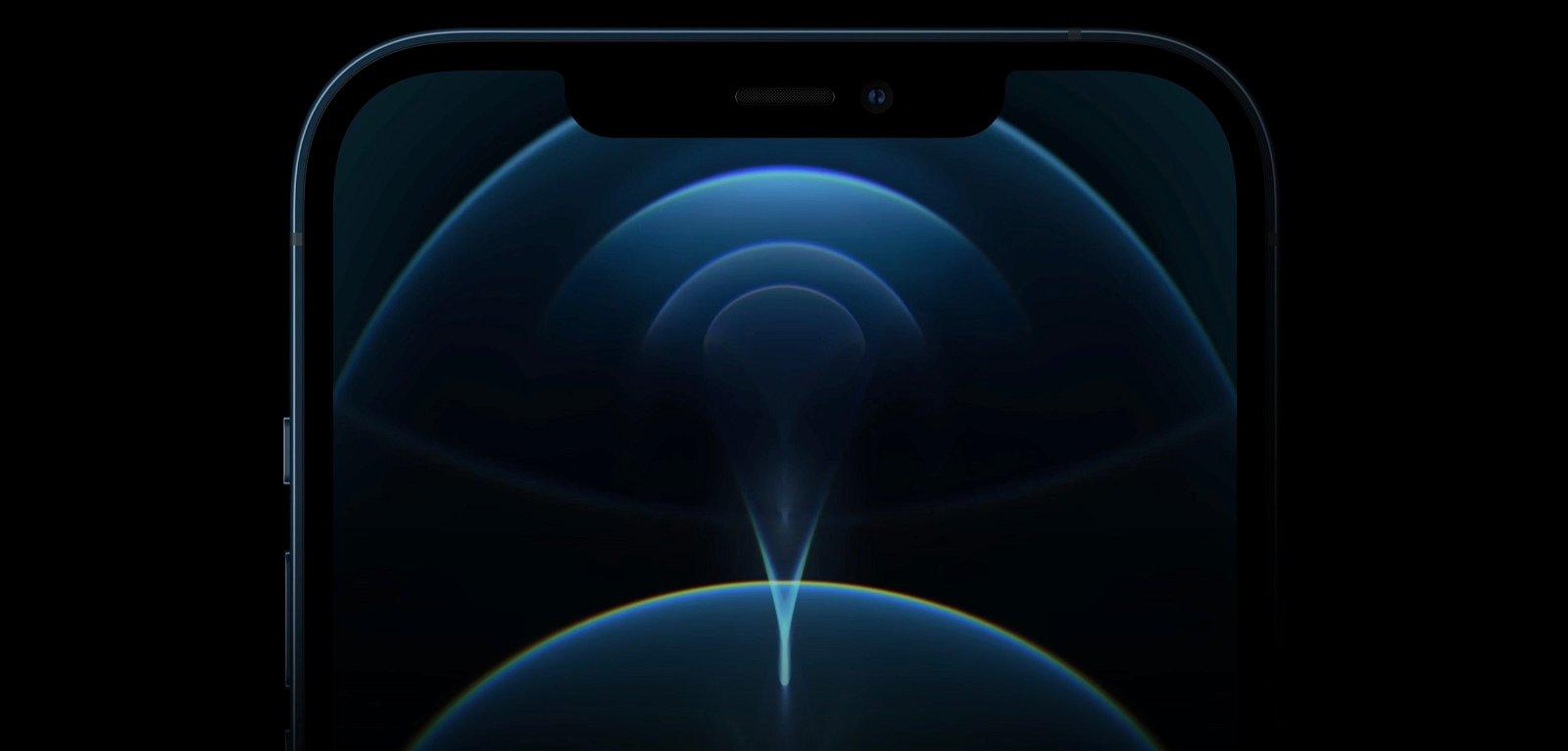 iPhone 12 Pro frontal pantalla