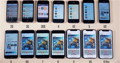 Unboxing de todos y cada uno de los modelos de iPhone que Apple ha lanzado