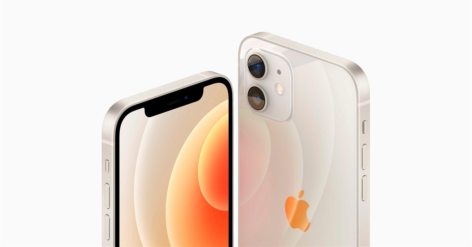 iPhone 12 blanco