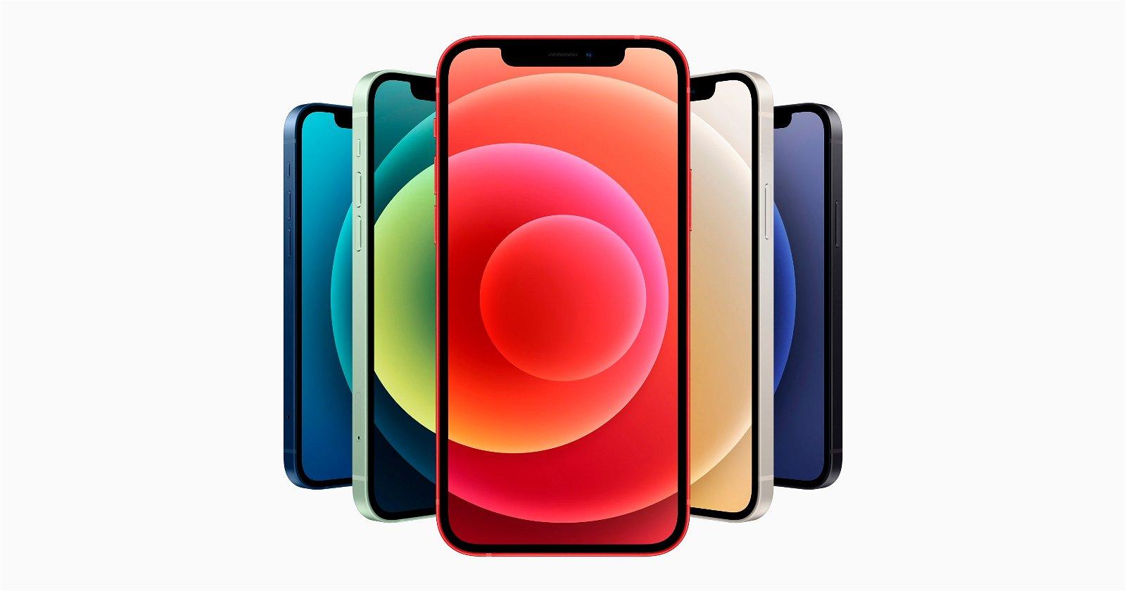 iPhone 12 en todos los colores