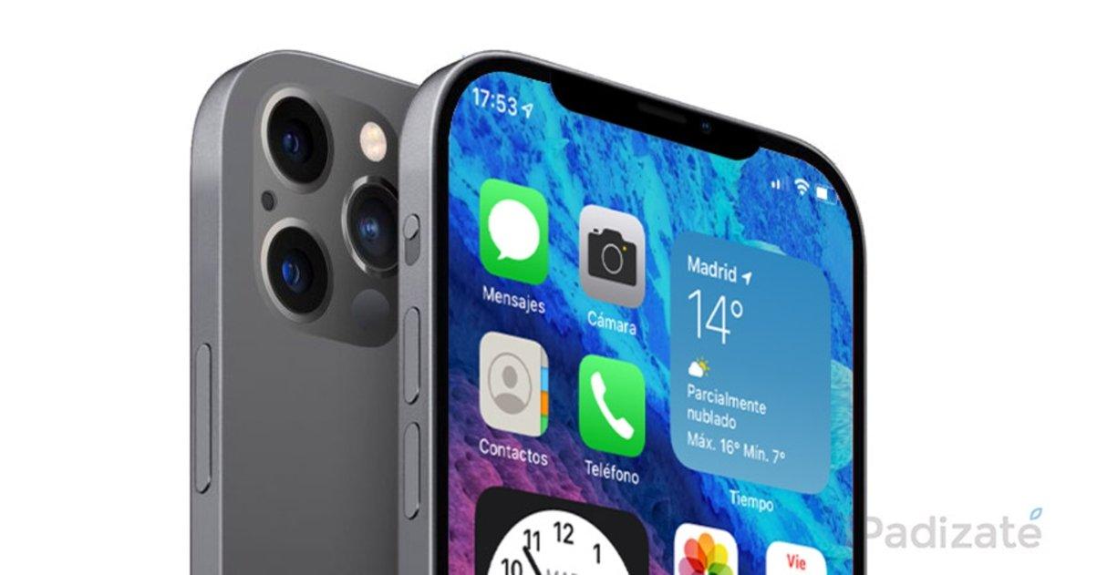iPhone 13 con notch peuqeño