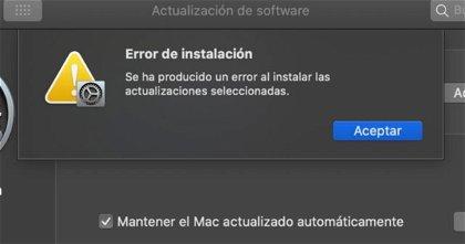 Apple confirma problemas con la instalación de macOS Big Sur