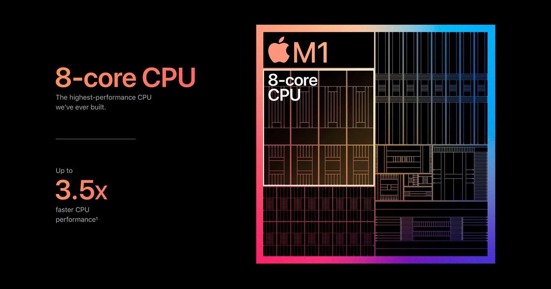 CPU procesador M1