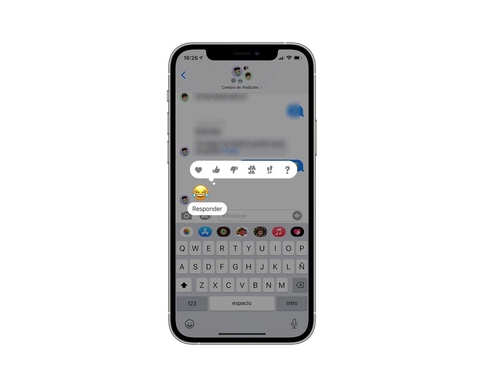 Responder iMessage
