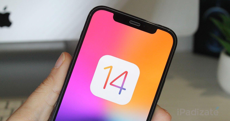 ios 14 en iPhone 12