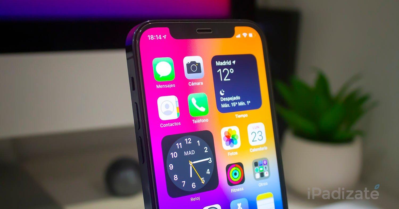 iOS 14 en el iPhone 12 Pro