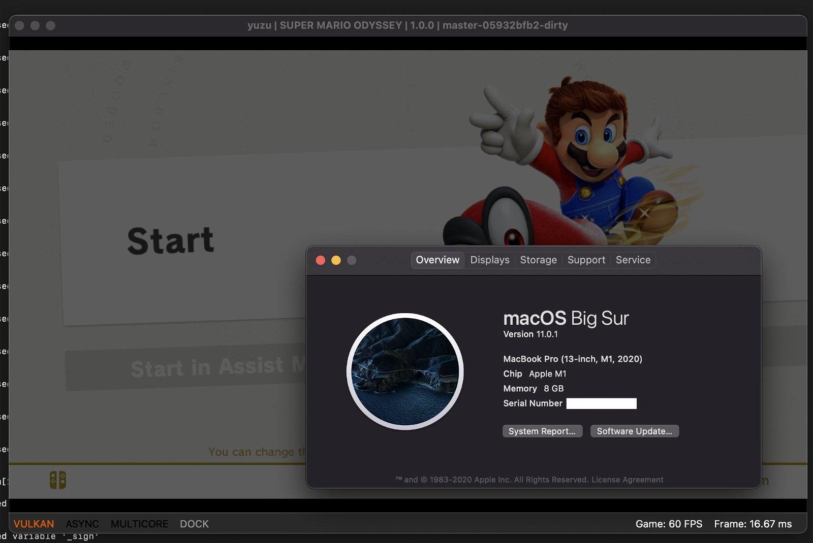 Nintendo Switch en Mac