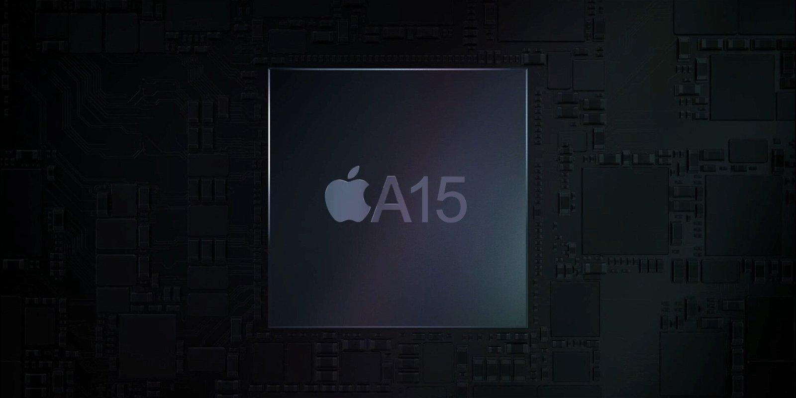 chip A15 Bionic