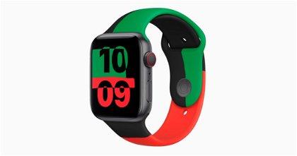 Apple lanza una correa y un Apple Watch Series 6 edición limitada: 'Black Unity'