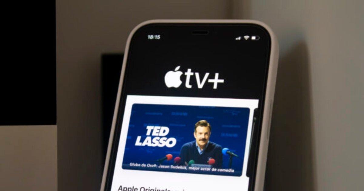 Apple TV+ en iPhone