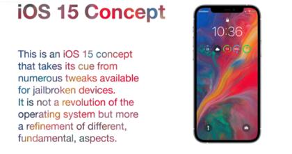 Nuevo concepto de iOS 15, y es absolutamente espectacular