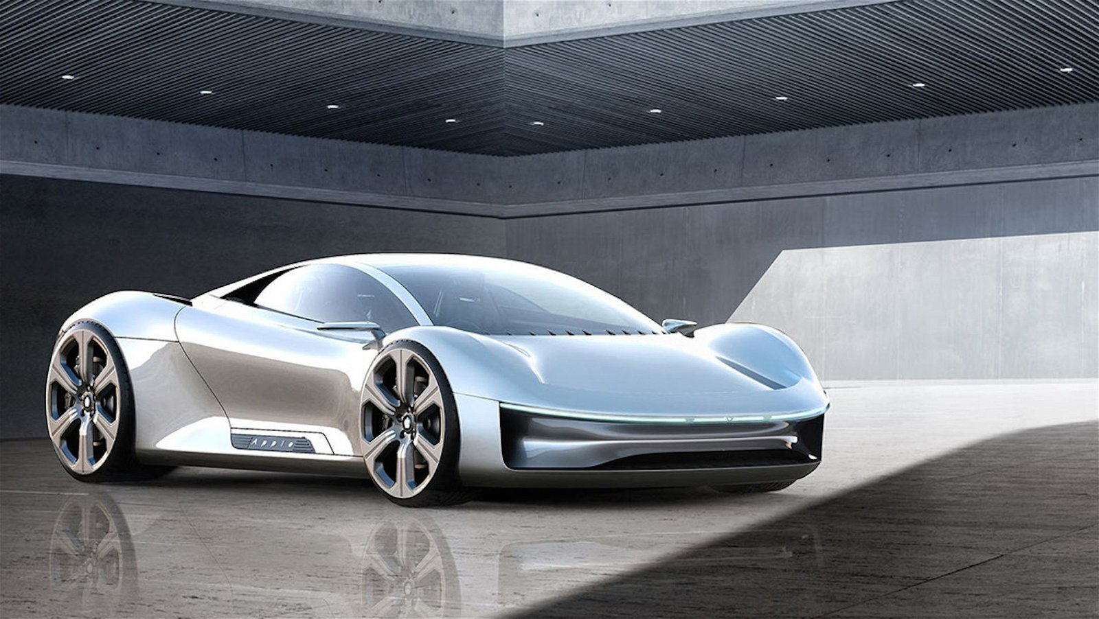 Concepto deportivo del Apple Car