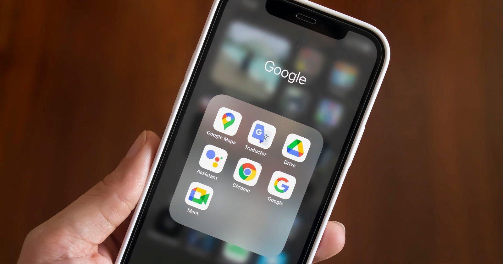 apps de google en iPhone