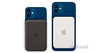 Las baterías externas MagSafe de Apple podrían ofrecer carga inversa