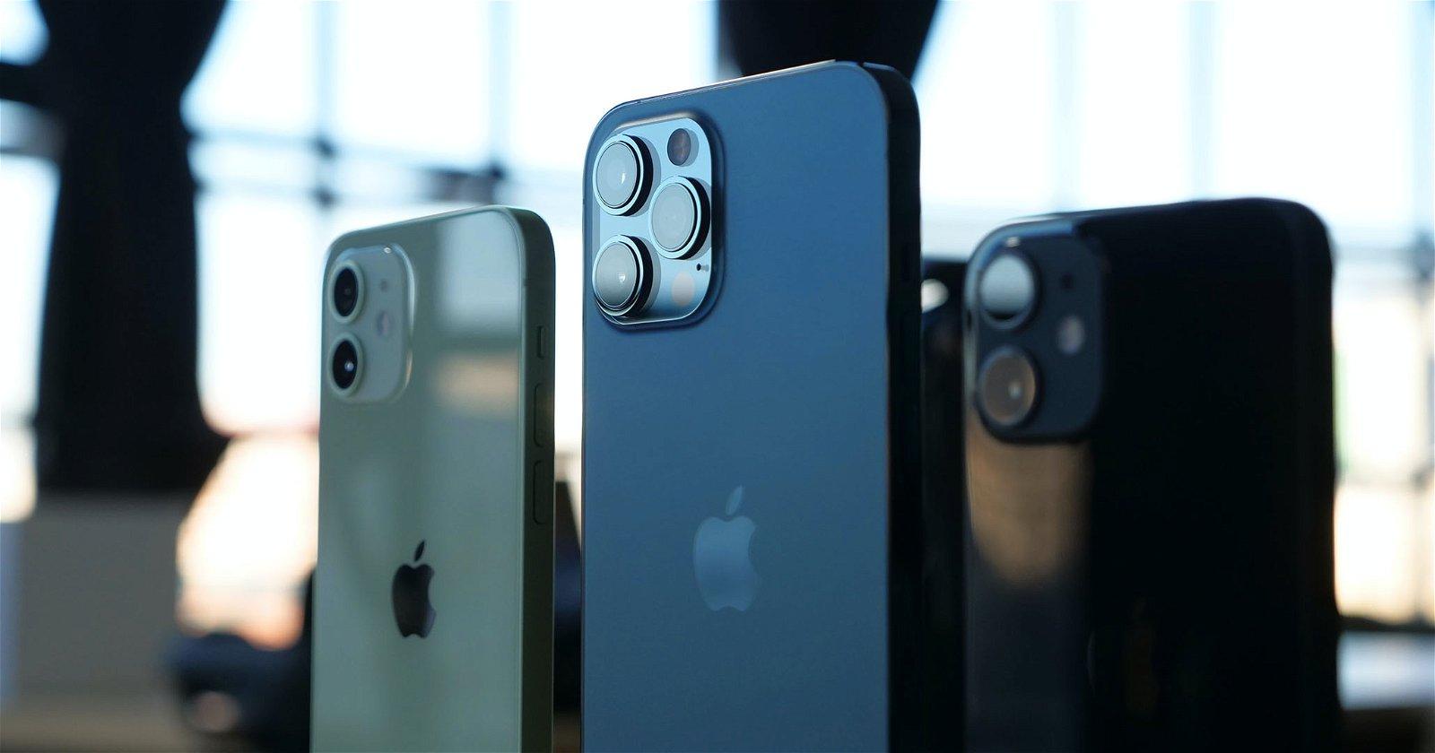 iPhone 12 12 Pro y 12 mini