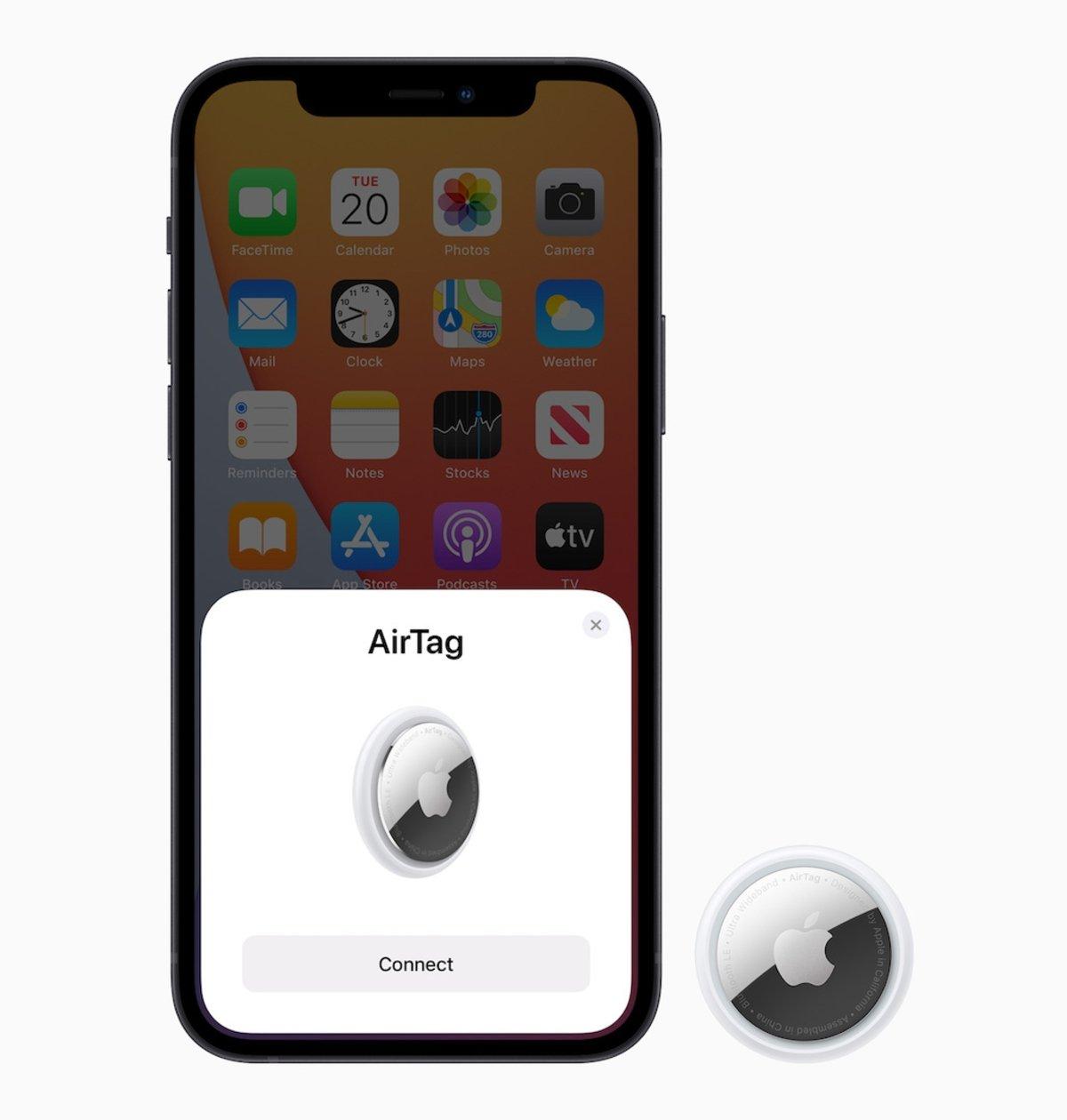 AirTag y iPhone