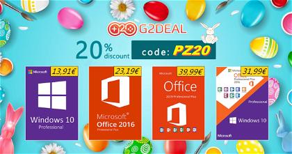 Windows 10 y Office nos regalan grandes descuentos y paquetes por pascua: desde 12,06€