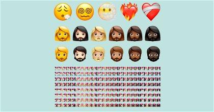 La lista completa de los más de 200 emojis nuevos de iOS 14.5