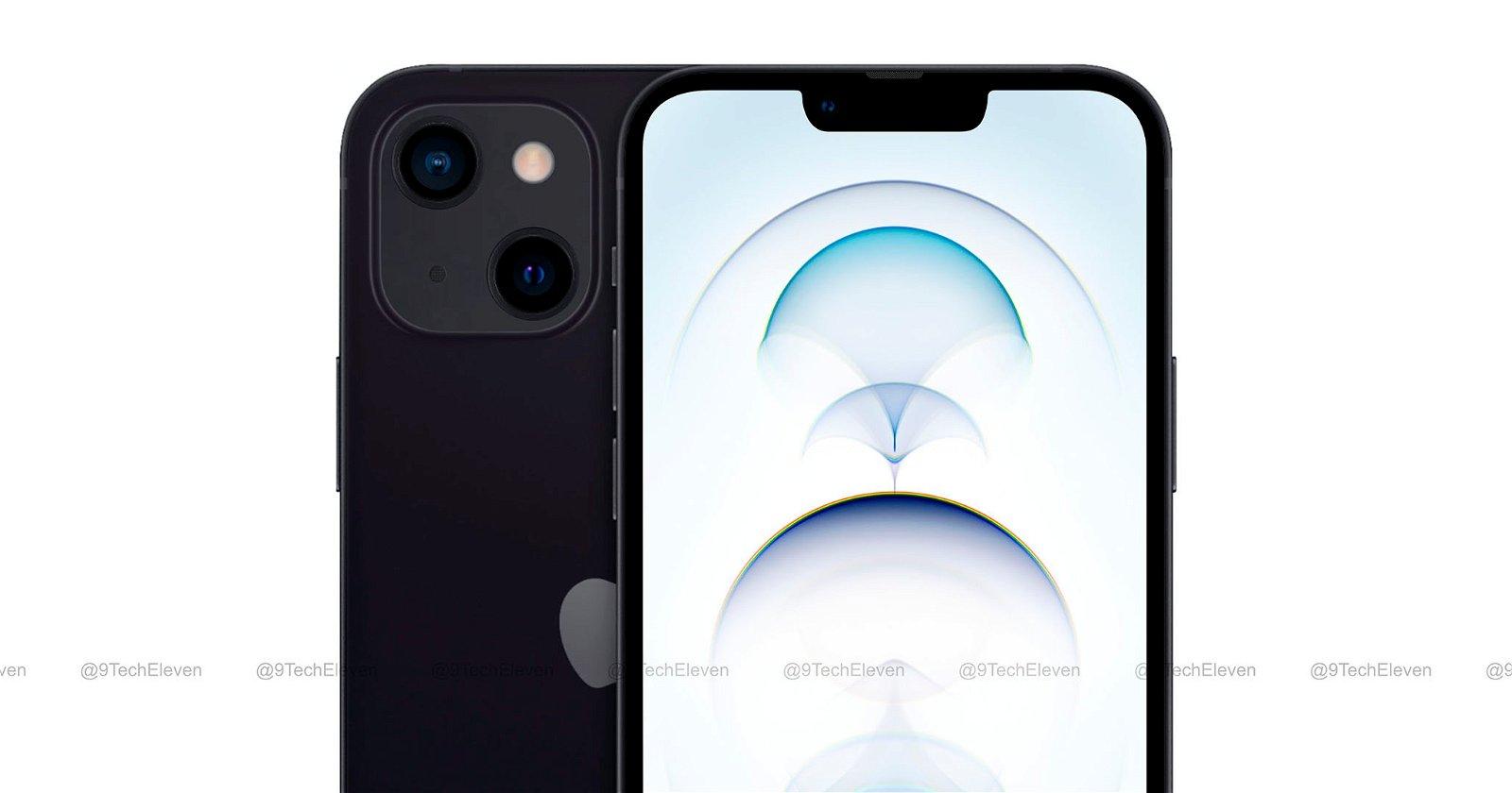 concepto iPhone 13 de 9techeleven
