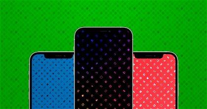 Estos wallpapers de iconos son geniales para tu iPhone