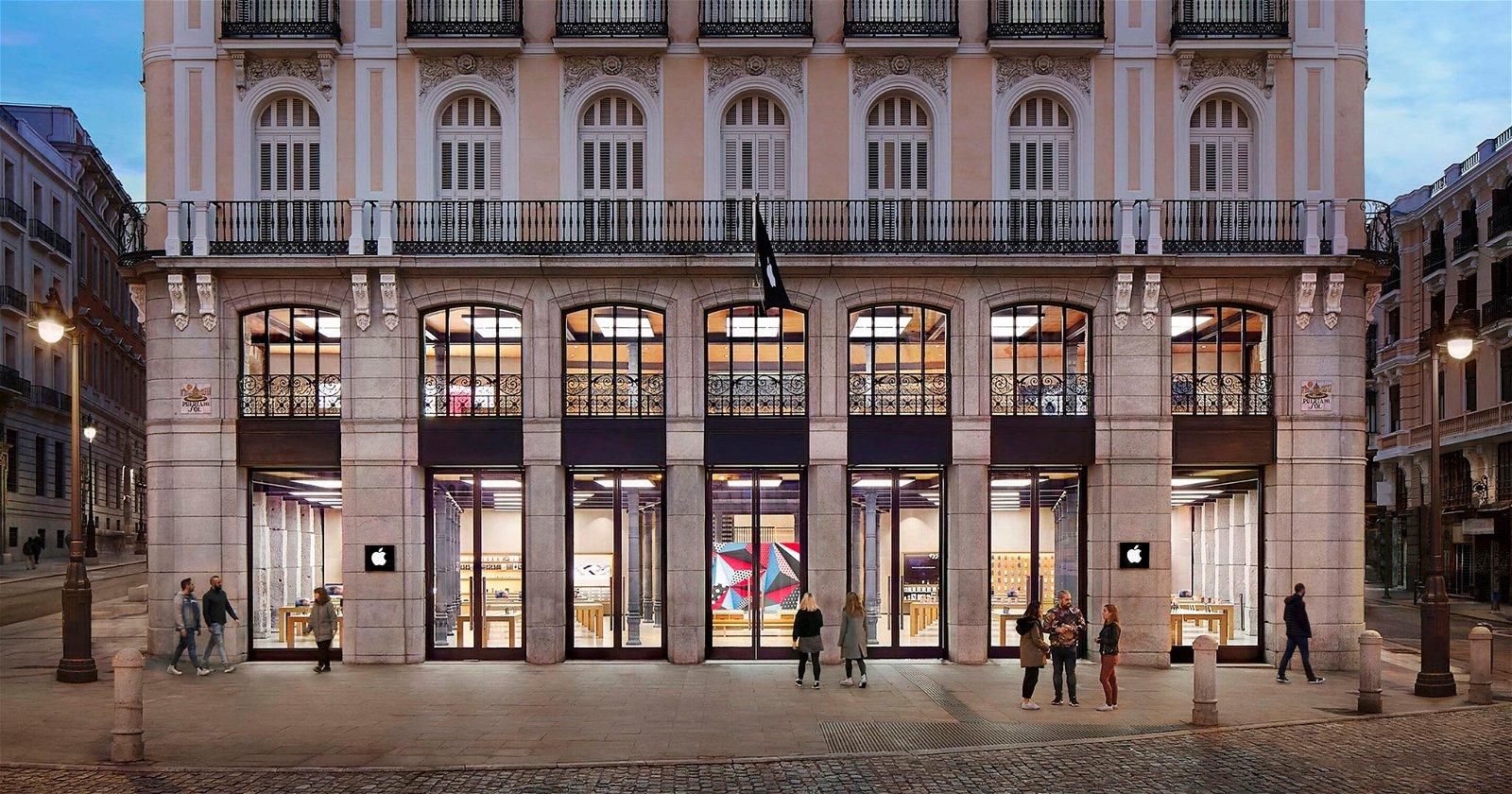 Apple Store de la Puerta del Sol en Madrid