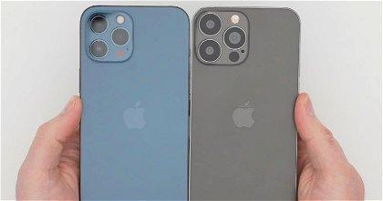 Las grandes cámaras y el pequeño notch del iPhone 13 Pro Max en vídeo