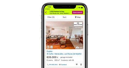 Idealista en iPhone y otras apps para encontrar piso o casa