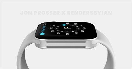 Llegan nuevas filtraciones sobre el renovado diseño del Apple Watch Series 7