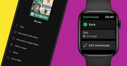 Cómo reproducir Spotify en el Apple Watch sin llevar el iPhone