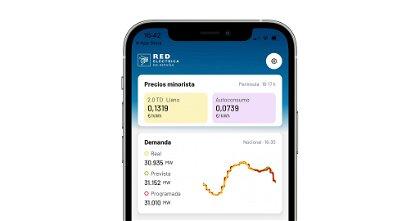 redOS, la app para conocer el precio de la luz en tiempo real