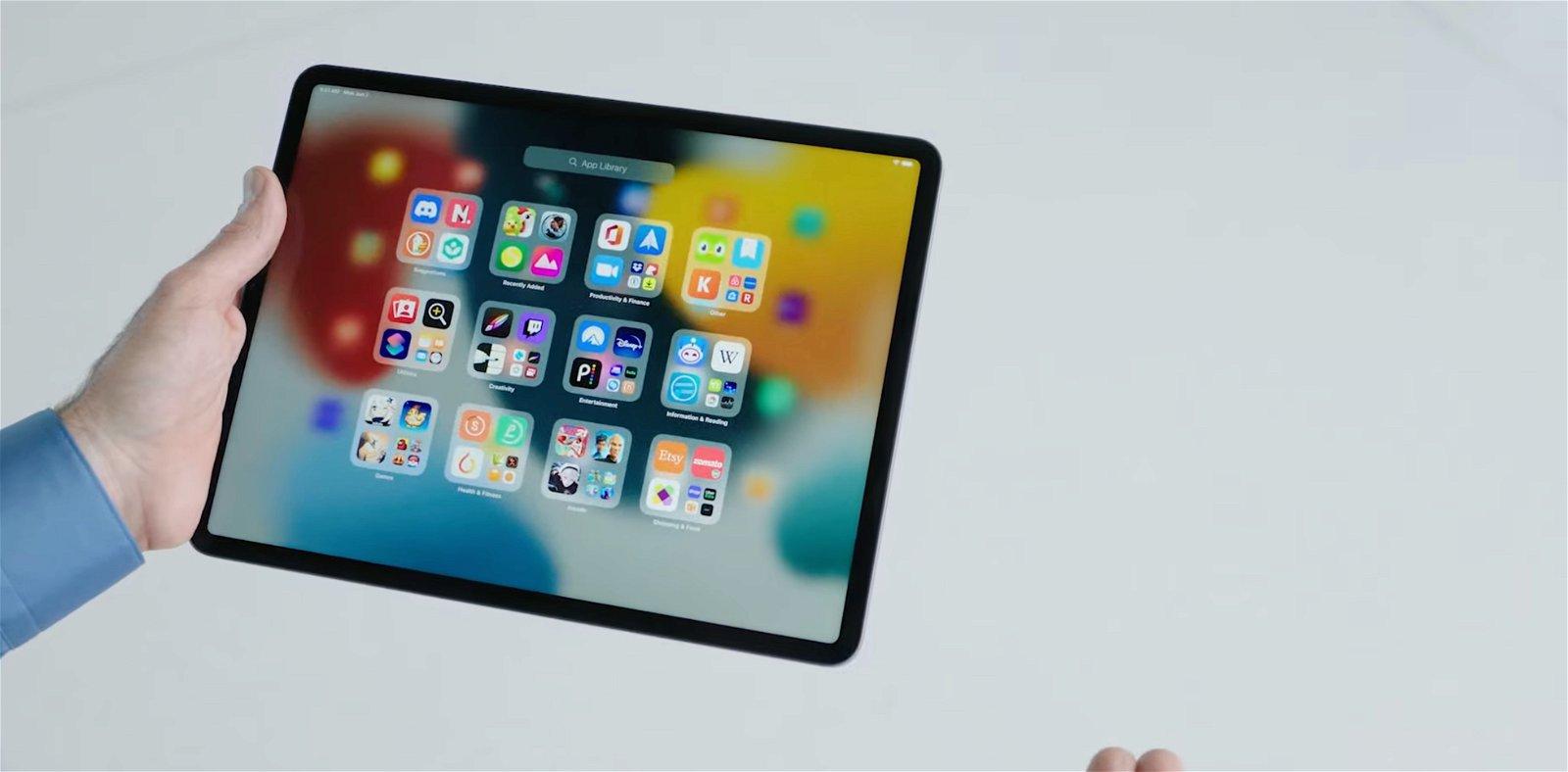 Biblioteca de Apps iPadOS