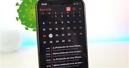 Cómo eliminar los virus del calendario del iPhone