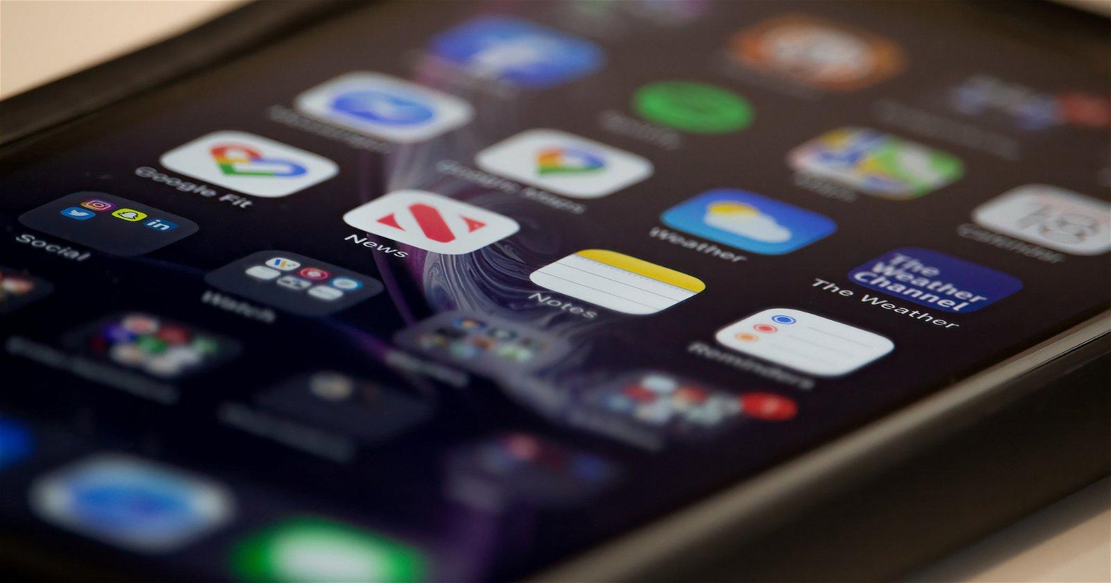 Apps en el iPhone y iPad