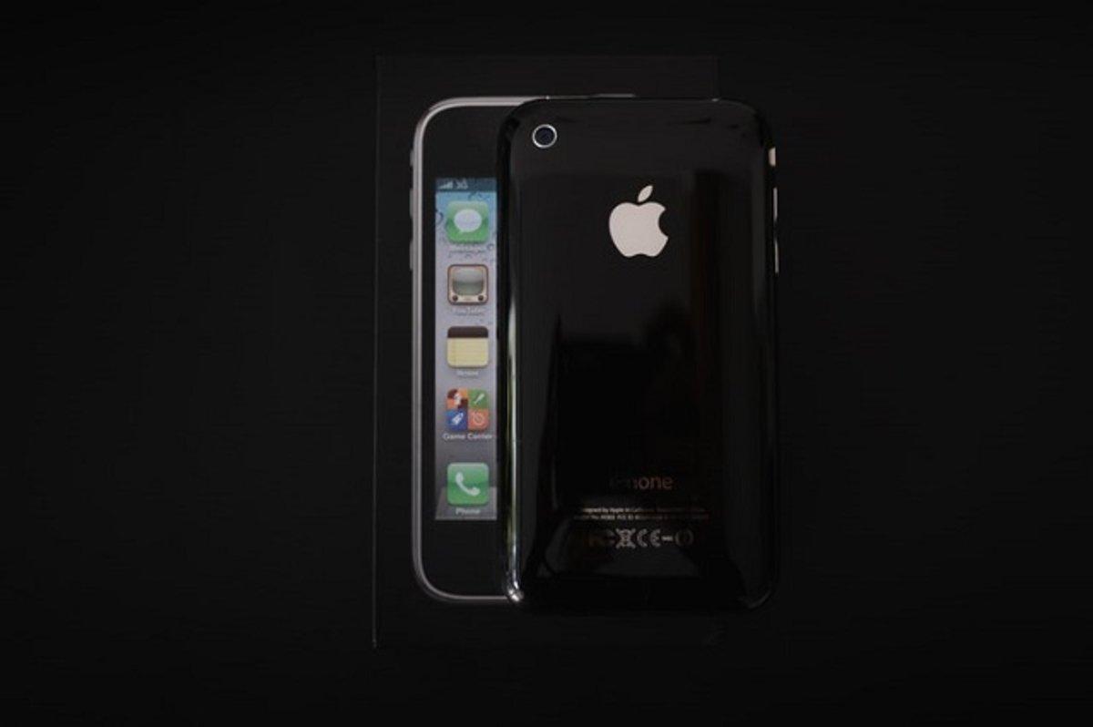 iPhone 3G negro con caja