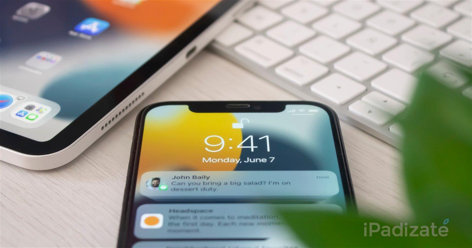 iOS 15 y iPadOS 15