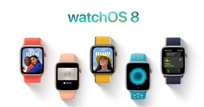 watchOS 8 lanzado oficialmente: todas las mejoras que llegan al Apple Watch