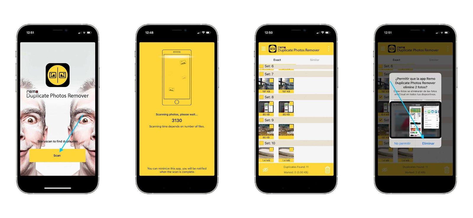 App para eliminar fotos duplicadas