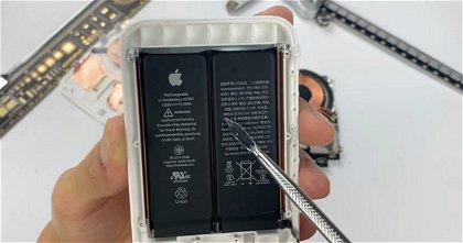 Así es por dentro el MagSafe Battery Pack: dos baterías en una