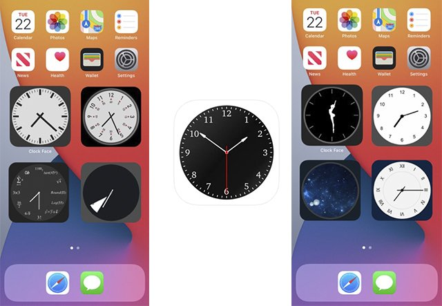 Clock face – Analog clocks-app