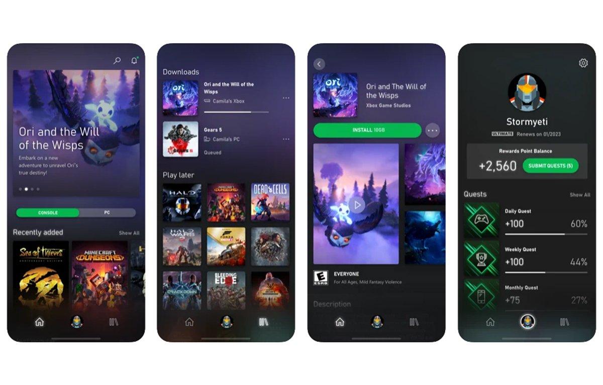 Como jugar con xCloud desde iPhone o iPad