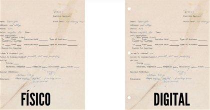 Subastan una solicitud de trabajo de Steve Jobs de 1973, ¡una locura!