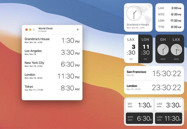 World Clock Widgets-app