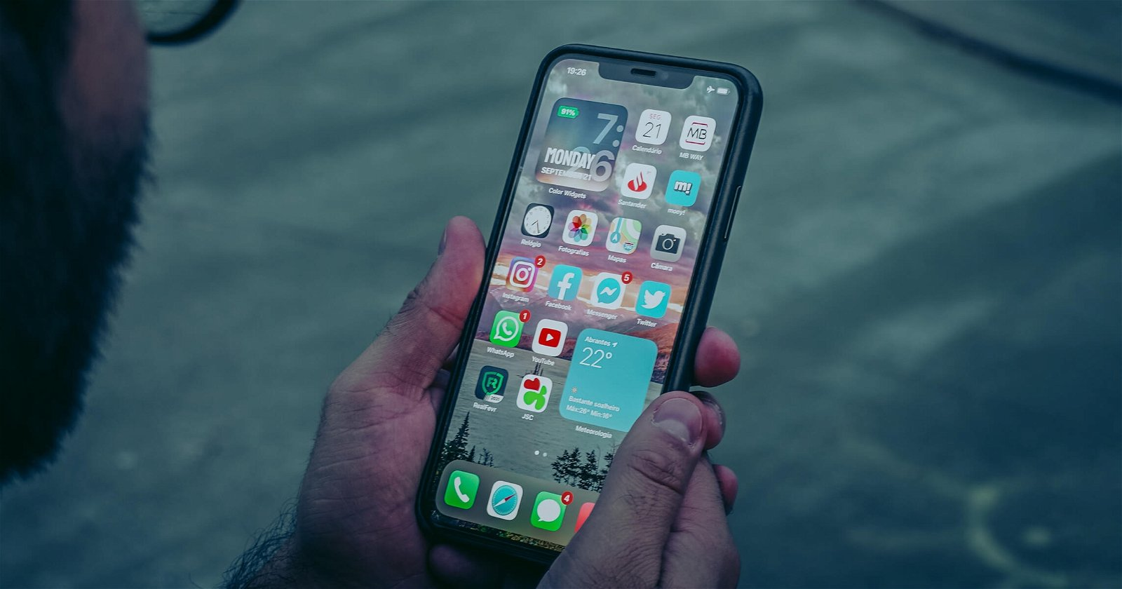 iPhone iOS widgets