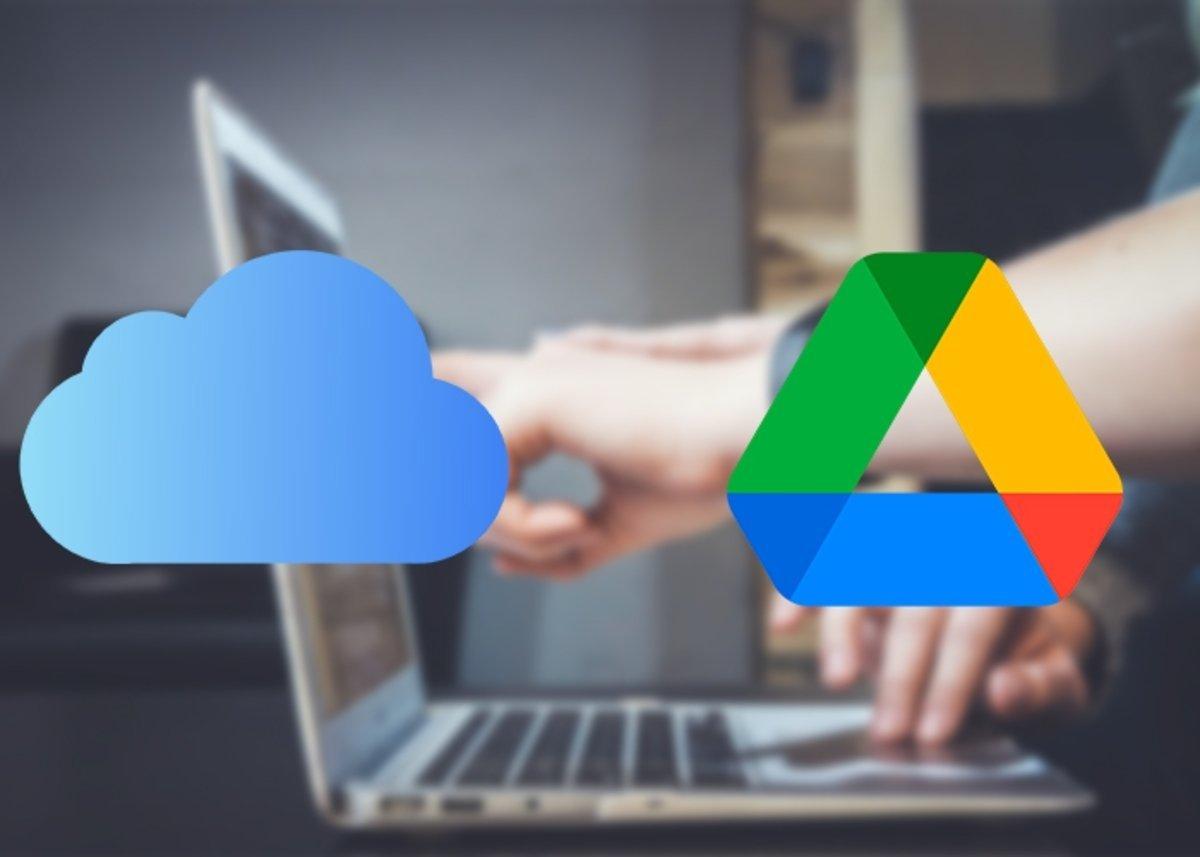 iCloud y Google Drive