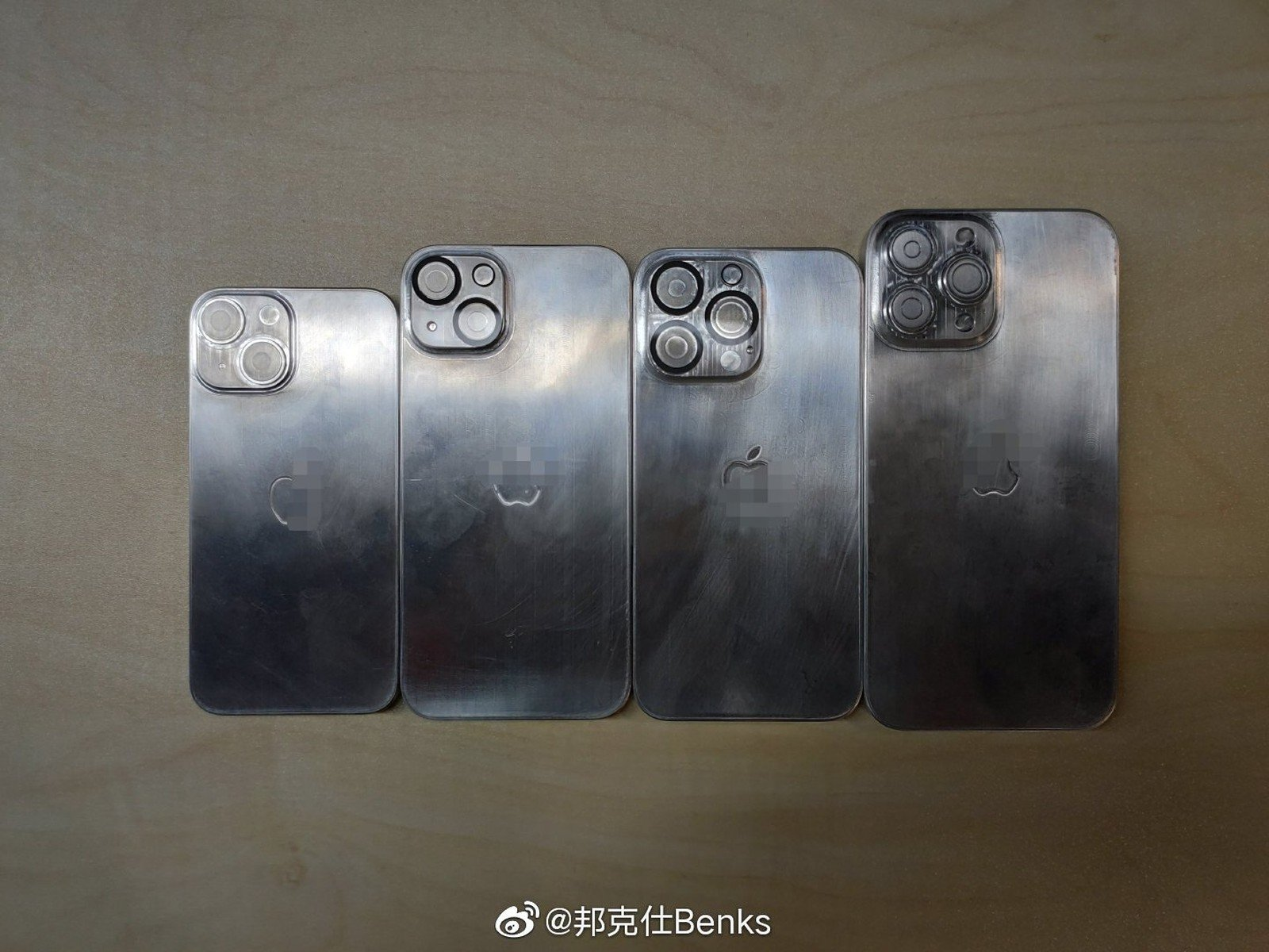 Moldes filtrados del iPhone 13