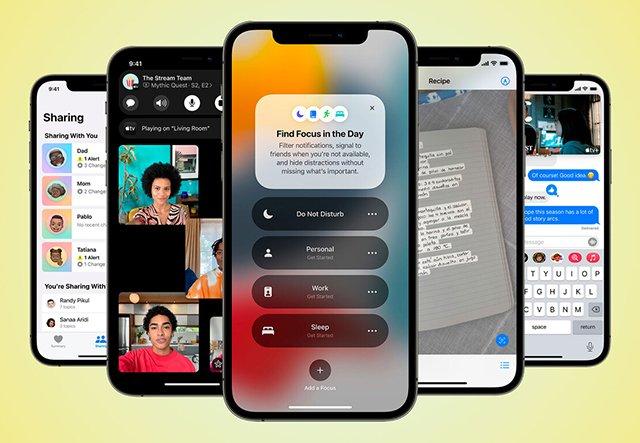 novedades destacadas de iPadOS 15-Nuevo modo Focus