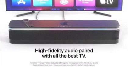 Esta es la pinta que tendría la fusión entre el Apple TV y el HomePod