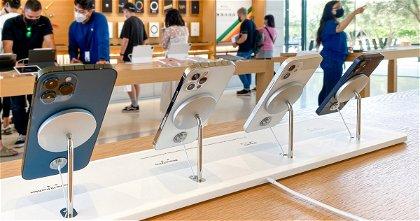 Las Apple Store tienen un nuevo dock MagSafe para los iPhone