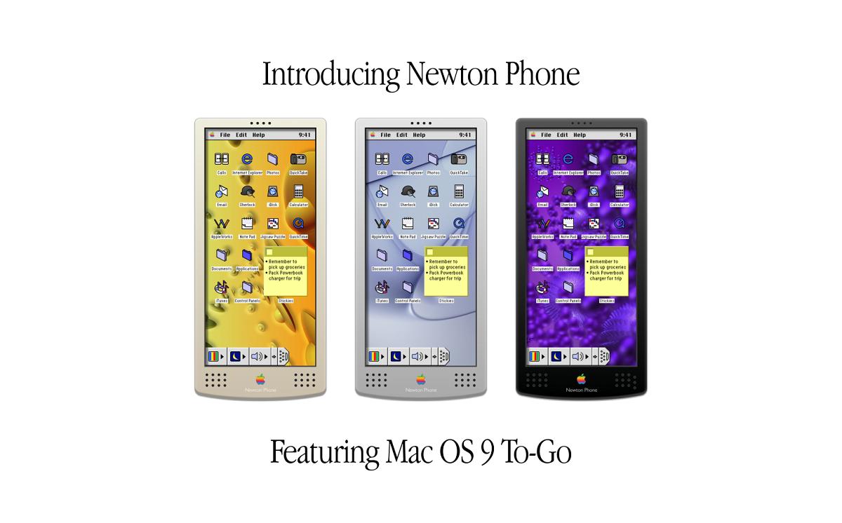 Concepto Newton Phone