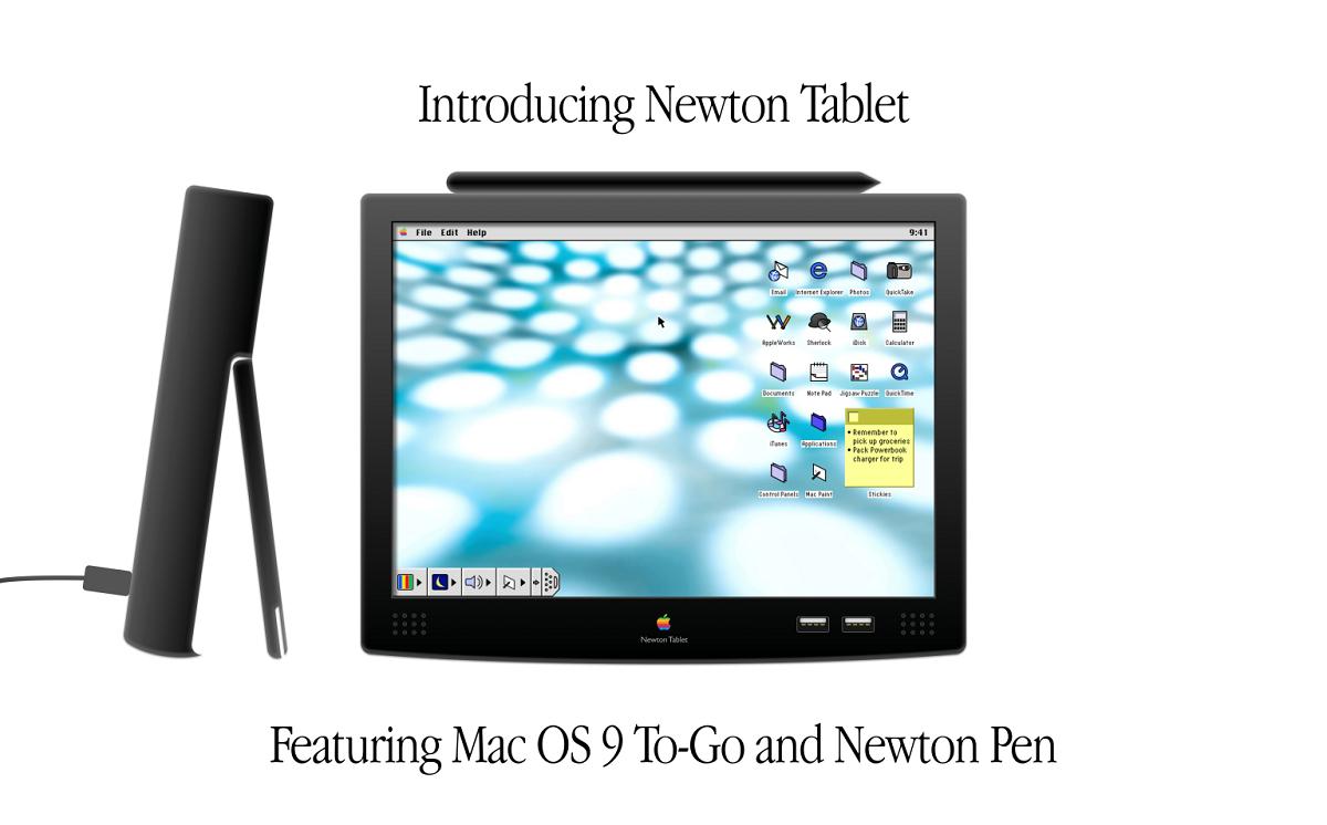 Concepto Newton Tablet
